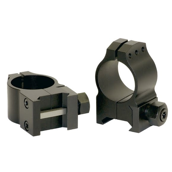 Warne 30mm Ultra-High Tactical Scope Rings (Matte) Image