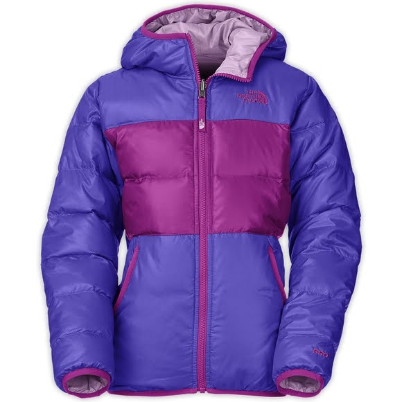 f0bbab0bc The North Face Girl's Youth Reversible Moondoggy Jacket