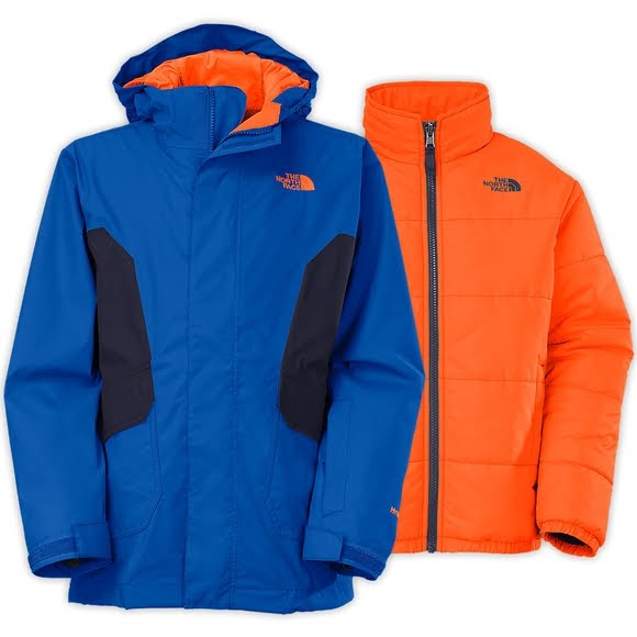 ed7de3eb7 The North Face Boy's Youth Boundary Triclimate Jacket