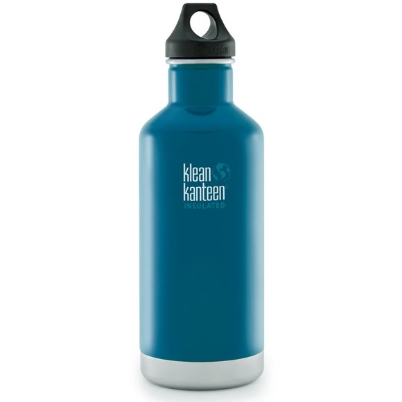 Klean Kanteen 32oz Classic Vaccum Insulated Water Bottle with Loop Cap Image