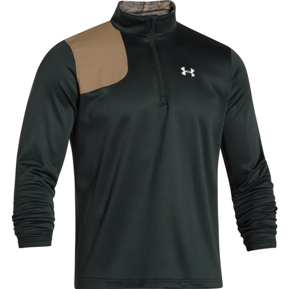 Under Armour Men's Borderland 1/4 Zip Image. Ultimate performance meets great  style ...
