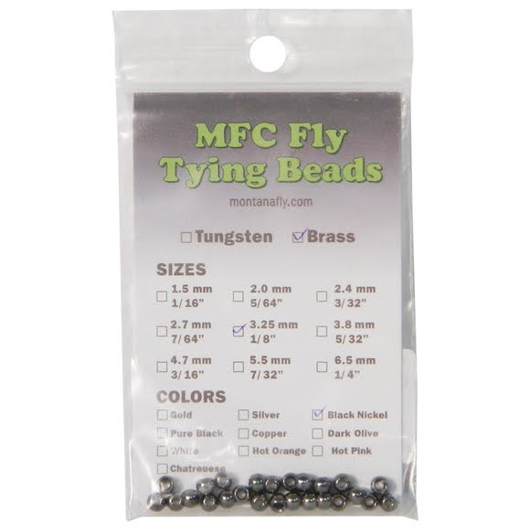 Montana Fly Company Brass Tying Beads Image