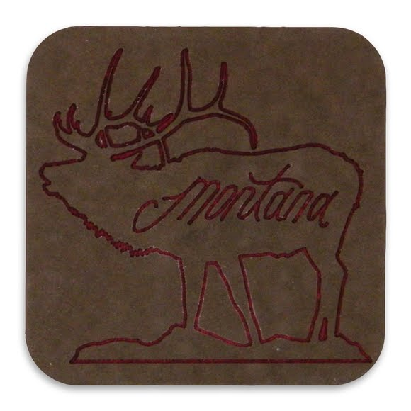 Benna Designs Engraved Drink Coaster Image