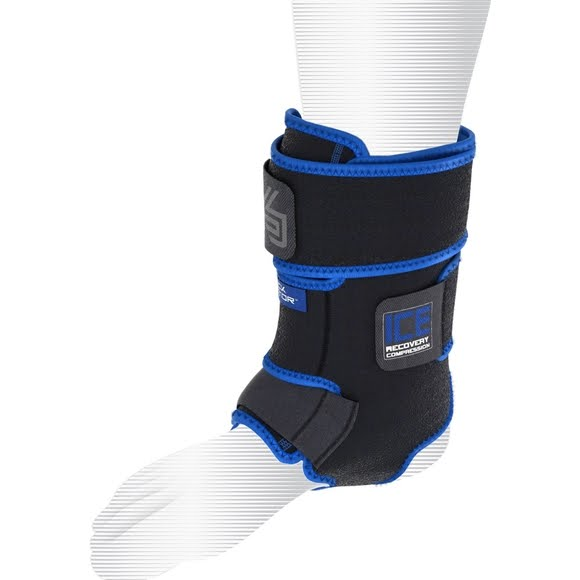 Shock Doctor Ice Recovery Compression Ankle Wrap (small / medium) Image