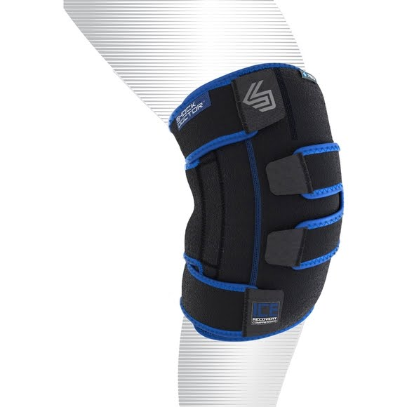 Shock Doctor Ice Recovery Compression Knee Wrap (Large/ XL) Image