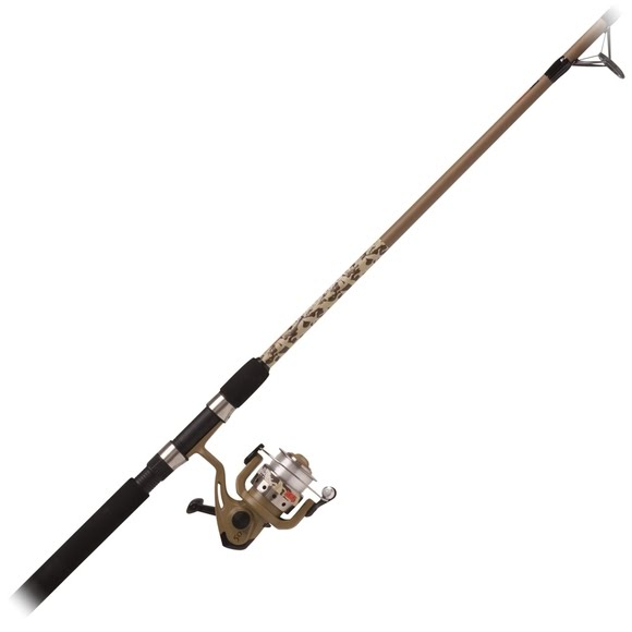 Zebco Duck Dynasty 2-Piece, 6ft Spinning Combo Image