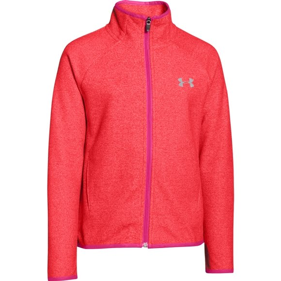 Under Armour Girl's Youth UA ColdGear Infrared Fleece Full Zip Image