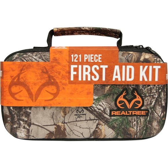 Lifeline Realtree Deluxe Hard-Shell Foam First Aid Kit Image