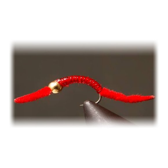 Flyboy Angler Red Power Worm (1 Dozen) Image