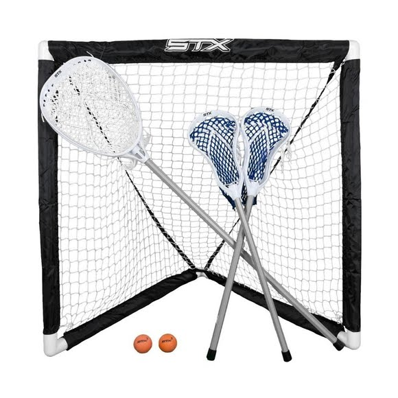 Stx FiddleSTX 3 Stick Lacrosse Game Set Image