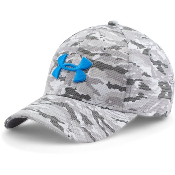 Under Armour Men s Printed Blitzing Stretch Fit Cap Image 5b0e56208d4