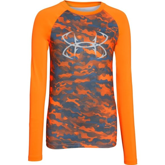 2ed617c7 Under Armour Boy's Youth CoolSwitch Thermocline Long Sleeve Shirt Image