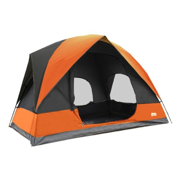 World Famous 4 Person Square Dome Tent Image
