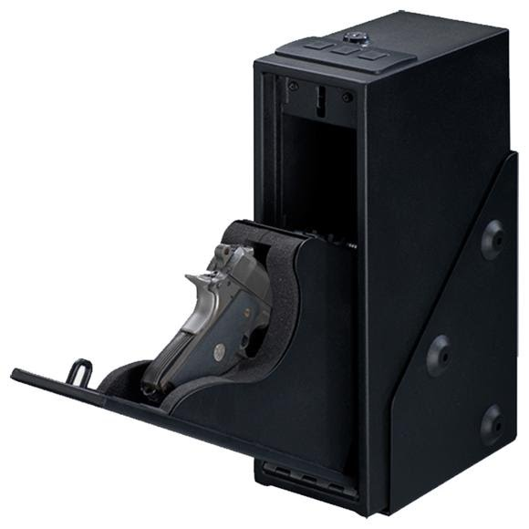 Stack On Single Pistol Quick Access Safe with Electronic Lock Image