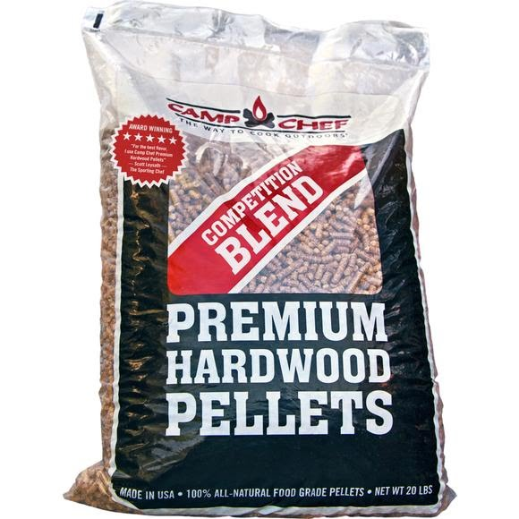 Camp Chef Competition Blend Premium Hardwood BBQ Pellets Image