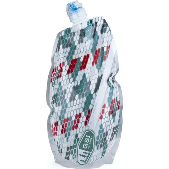 Gsi Outdoors H2O Lite 1 Liter Collapsible Water Bottle Image