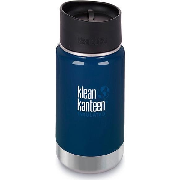 Klean Kanteen 12oz Insulated Wide Bottle with Cafe Cap Image