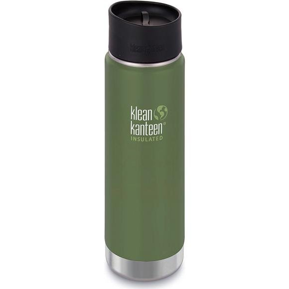 Klean Kanteen 20oz Insulated Wide Bottle with Cafe Cap Image