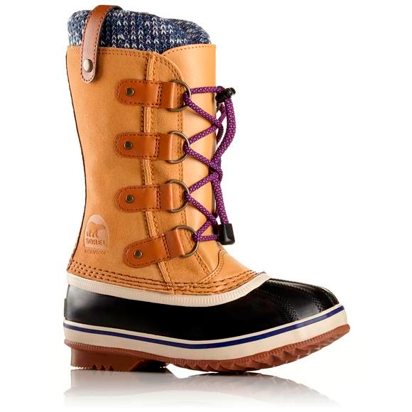 09f669b48a200 Sorel Youth Girl s Joan of Arctic Knit Winter Boot Image