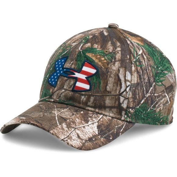 Under Armour UA Camo Big Logo 2.0 Cap Image c283dedcda80