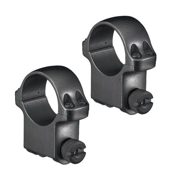Ruger Ruger M77 1 Inch High Scope Rings with Matte Blued Finish Image