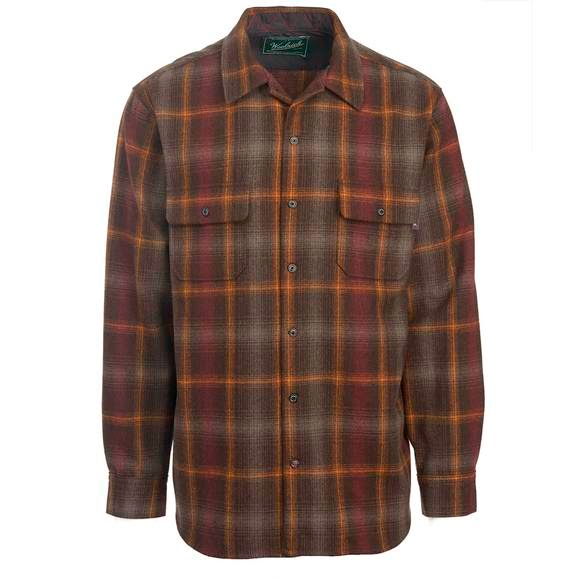 Woolrich Men's Bering Wool Shirt: Modern Fit Image