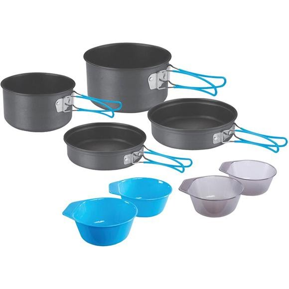 Stansport 4-Person Hard Anodized Cook Set Image