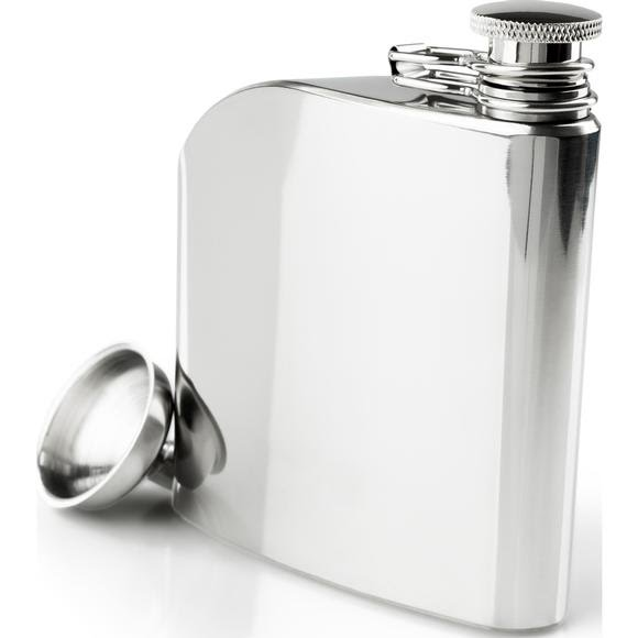 Gsi Outdoors Glacier Stainless 6oz Trad Flask Image