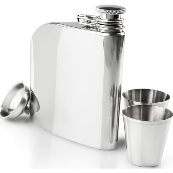 Gsi Outdoors Glacier Stainless Trad Flask Set Image