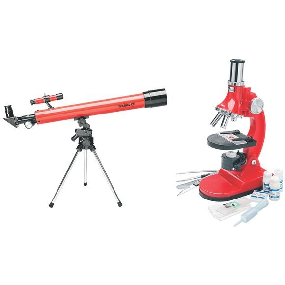 Tasco Telescope and Microscope Set Image