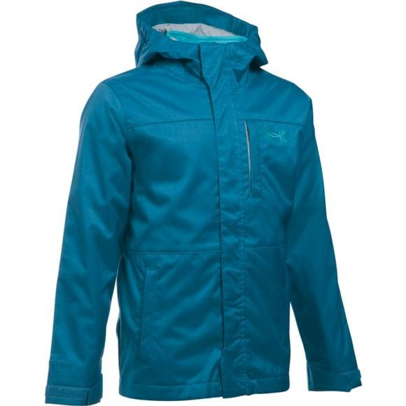 ba10f9db Under Armour Mountain Youth Boy's UA ColdGear Infrared Wildwood 3-in-1  Jacket