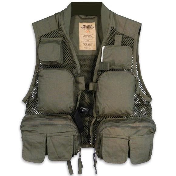 Master Sportsman Gallatin Fishing Vest Image