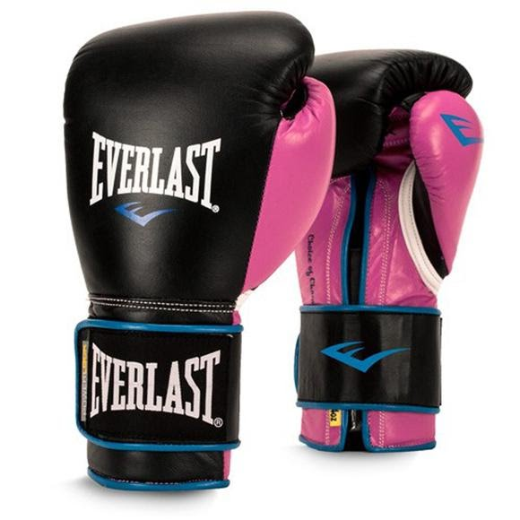 Everlast Women's Powerlock Hook and Loop Training Gloves Image
