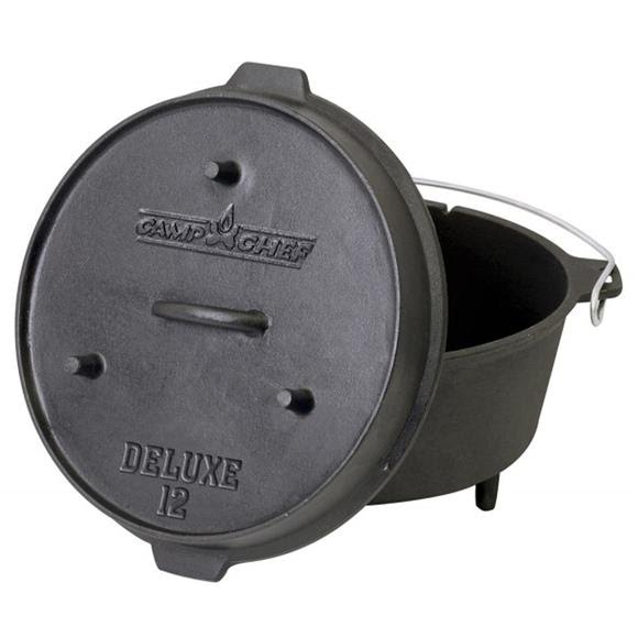 Camp Chef 12'' Cast Iron Deluxe Dutch Oven Image