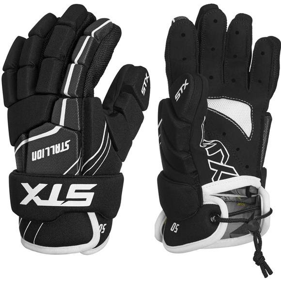 Stx Men's Stallion 50 Lacrosse Gloves Image