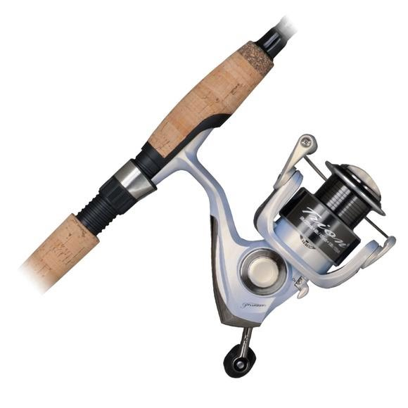 Pflueger Trion Spinning Combo 6 Foot 6 Inch 2 Piece Light Image