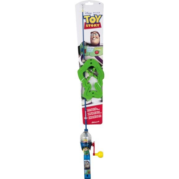 Shakespeare toy story lighted fishing rod kit for Cat toy fishing pole