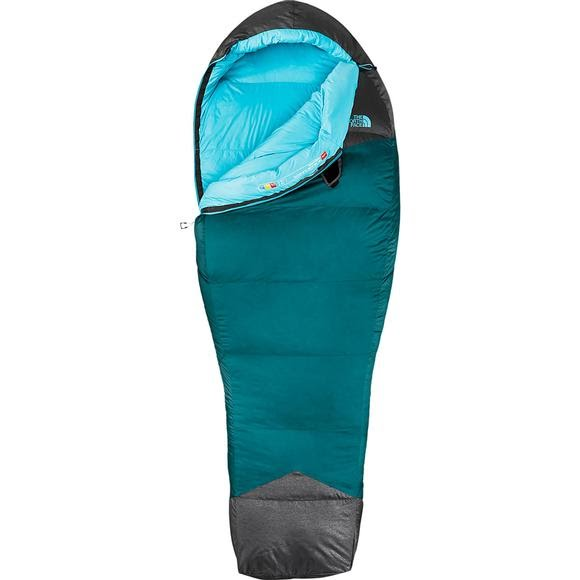 The North Face Women S Blue Kazoo 15 Degree Sleeping Bag Image