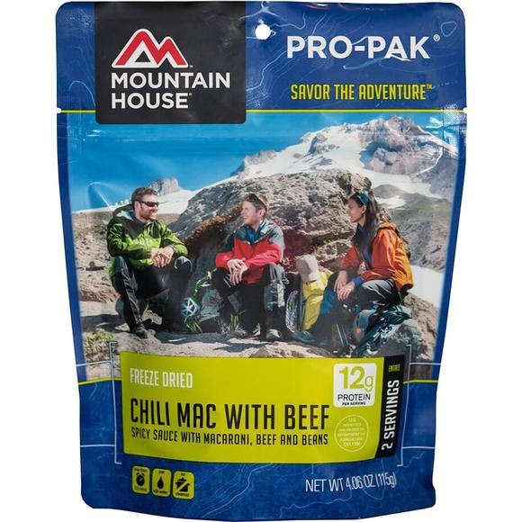 Mountain House Pro-Pak Chili Mac with Beef Image