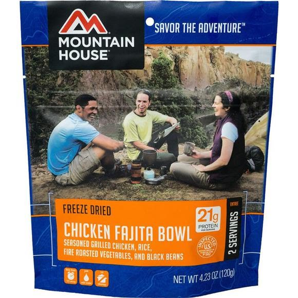 Mountain House Chicken Fajita Bowl (Serves 2) Image