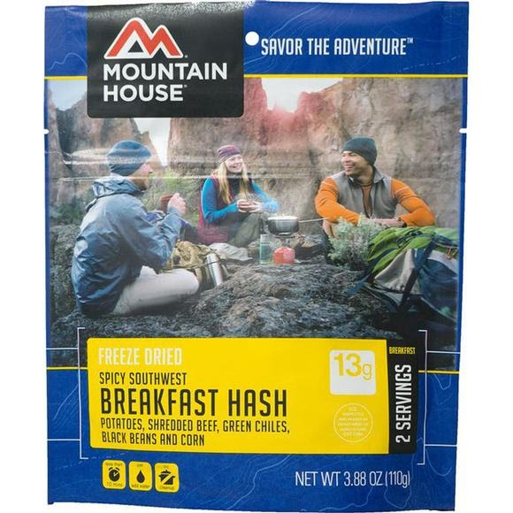 Mountain House Spicy Southwest Breakfast Hash (Serves 2) Image