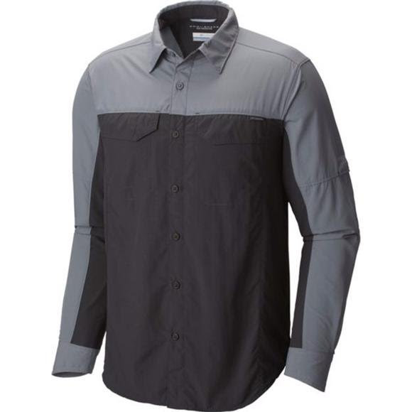 Columbia Men's Silver Ridge Blocked Long Sleeve Shirt Image