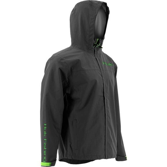 Huk Men's Packable Rain Jacket Image