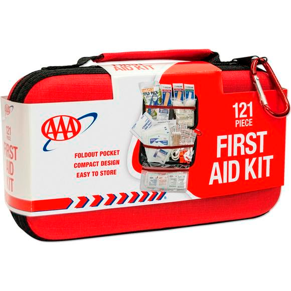 Lifeline AAA Road Trip 121-Piece First Aid Kit Image