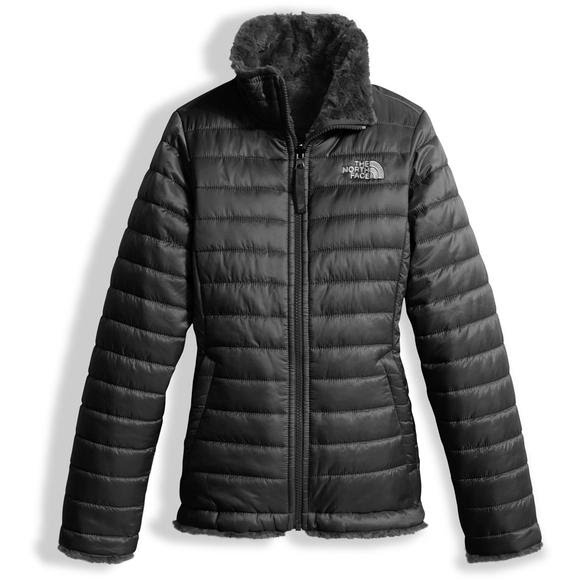 ... free shipping the north face girls youth reversible mossbud swirl jacket  image 9f237 764f2 ... b3de9973a