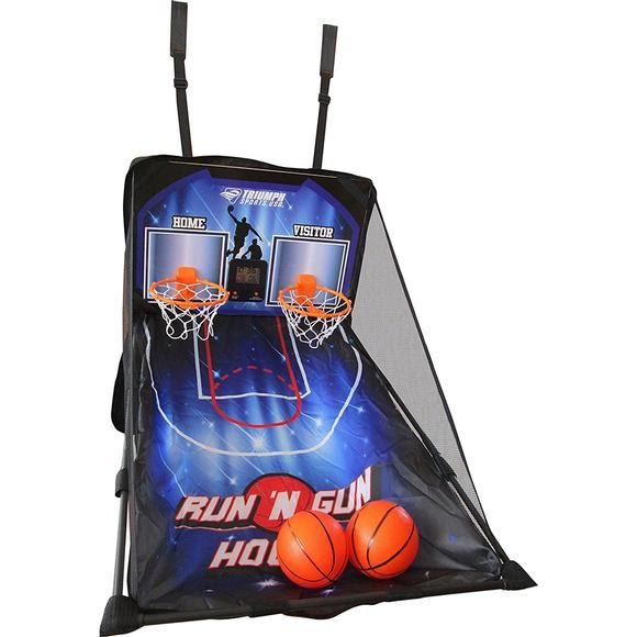 Triumph Sports Run 'n Gun Over the Door 2 Player Basketball Game Image
