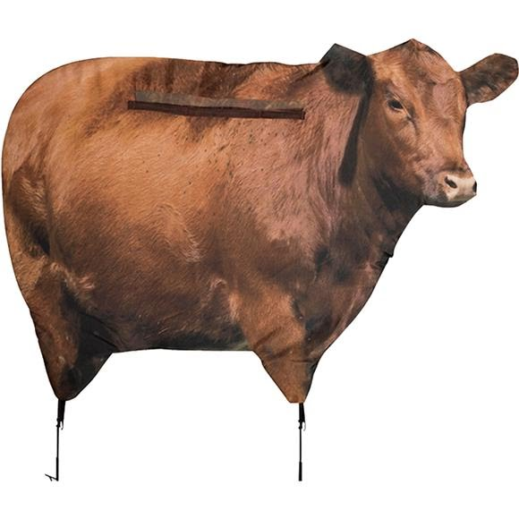 Montana Decoy Big Red Moo Cow Decoy Mini Blind Image