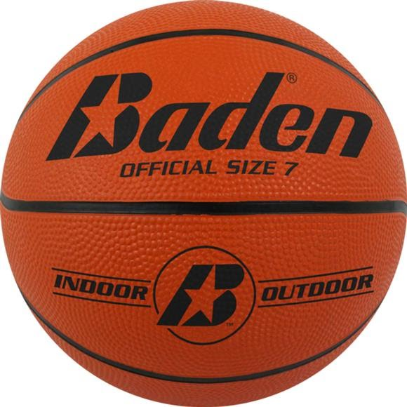 Baden Sports Official Size 7 Rubber Basketball Image