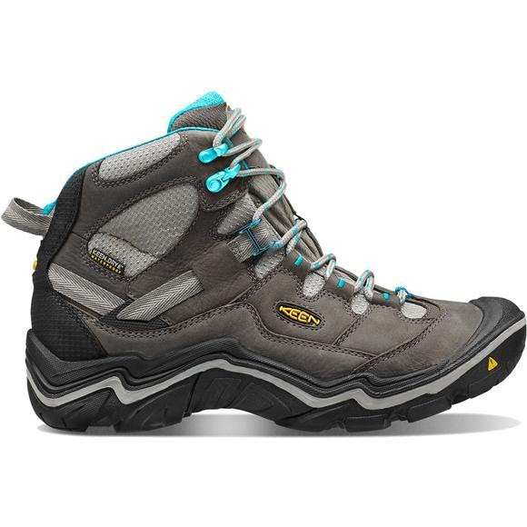 90d65bba24d Keen Women's Durand Waterproof Mid Hiking Boots Image. Get comfortable ...