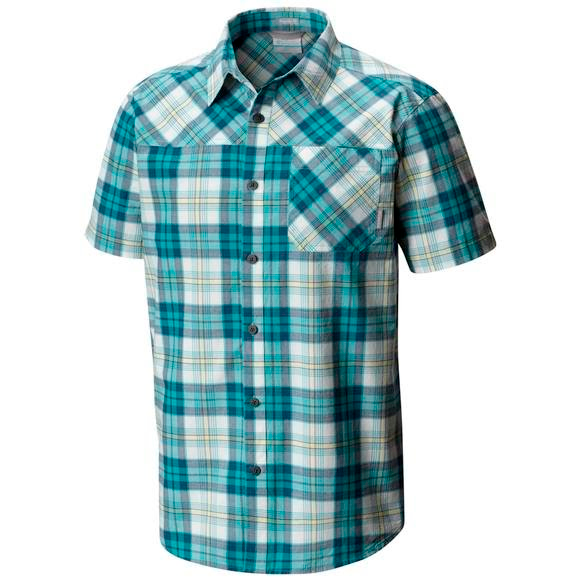 Columbia Men's Thompson Hill Yarn Dye Short Sleeve Shirt Image